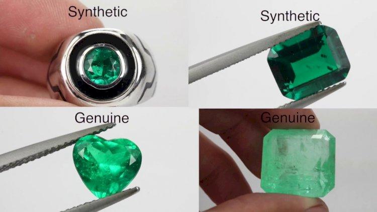 Esmeraldas - Sintéticas ou Verdadeiras