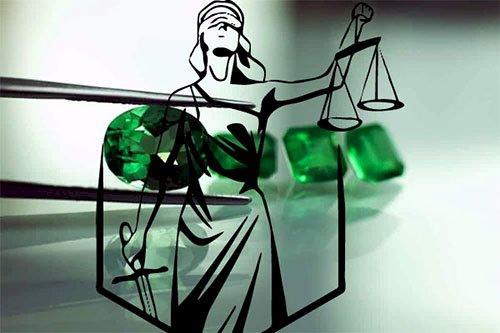 Pedras Preciosas como Esmeraldas e a Justiça